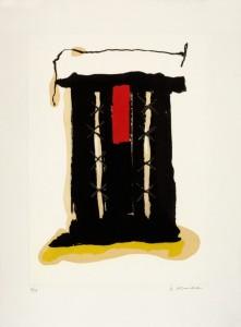 Nino Aimone - Composizione astratta (2007)