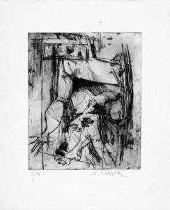 Sergio Saroni - Figura seduta (1956)
