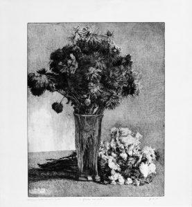 Leonardo Castellani - Il mazzetto di anemoni (1953)