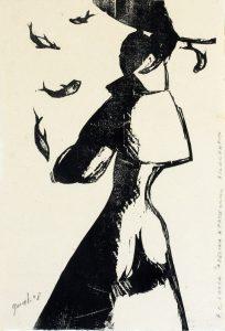 """Marcello Guasti - F.G. Lorca """"Adelina a passeggio"""" (1948)"""