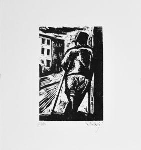 Piero Parigi - Storpio alla cantonata (1950)