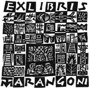 Tranquillo Marangoni - Ex libris Tranquillo Marangoni (Scacchiera) (1974)